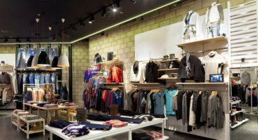 מנורות תקרה בפרויקט תאורה ברשת חנויות רנואר