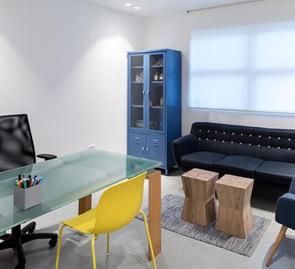 עיצוב תאורה למשרד