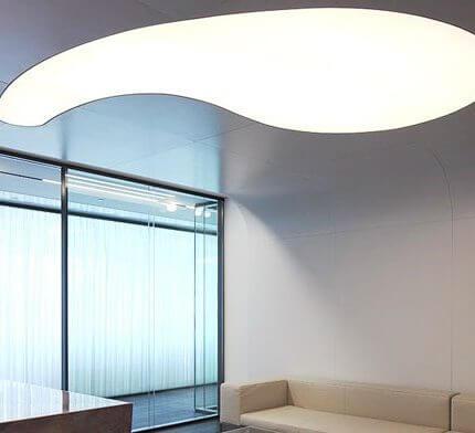 תאורה יוקרתית בפרויקט תאורה במשרד עו