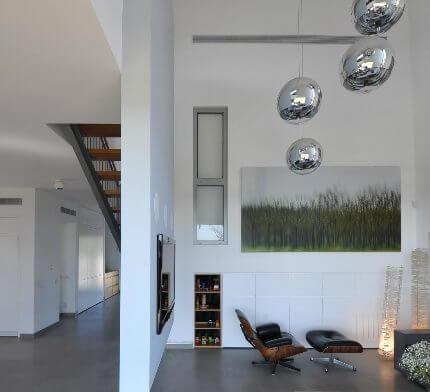 תאורה לבית בפרויקט תאורה של שרון נוימן