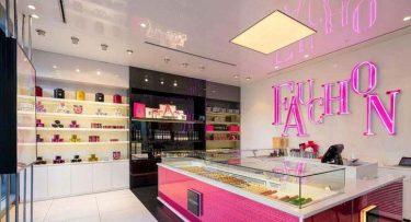 מנורות תקרה בפרויקט תאורה ברשת חנויות אופנה פושון