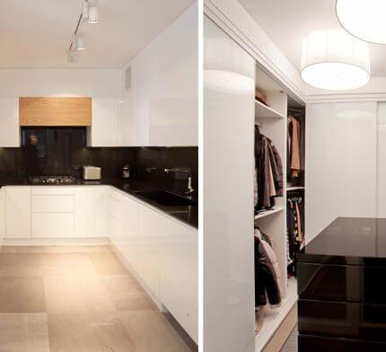 תאורה למטבח בפרויקט תאורה לבית באזורי חן
