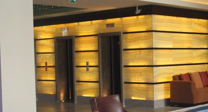 תאורת חוץ בפרויקט תאורה במלון רדיסון בוקרשט