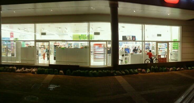 גופי תאורה צמודי תקרה בפרויקט תאורה ברשת חנויות סופר פארם