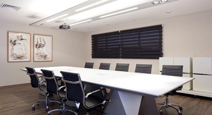 פרופילים בפרויקט תאורה במשרדי ארגנטולס