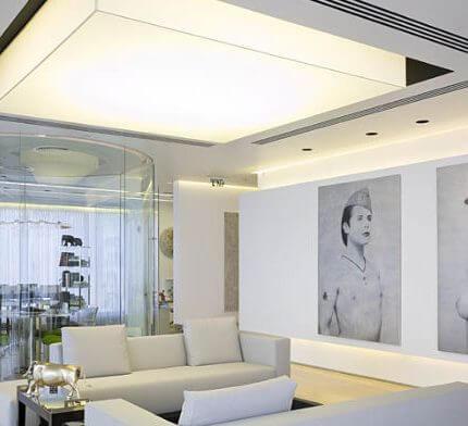 תאורה למשרדים בפרויקט תאורה של גל מרום
