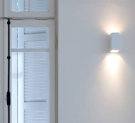 מנורות קיר בפרויקט תאורה משרד אדריכלים בתל אביב