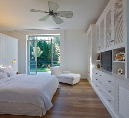 מנורות לחדר שינה בפרויקט תאורה של ברוש אלון