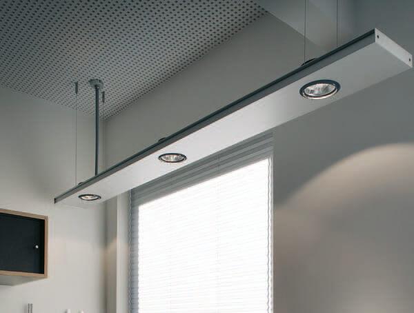 פרופילים תאורה דגם 2FLAT2C מבית Modular