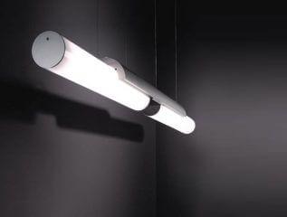 פרופילים תאורה דגם Halfpipe suspended מבית Modular
