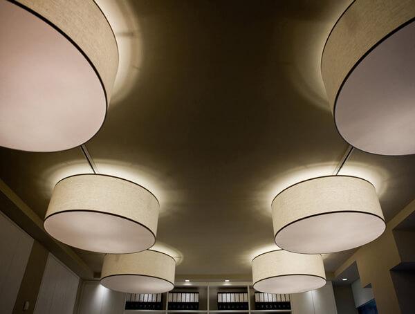 מנורות תליה דגם Circus של מותג תאורה בינלאומי לגופי תאורה Contardi