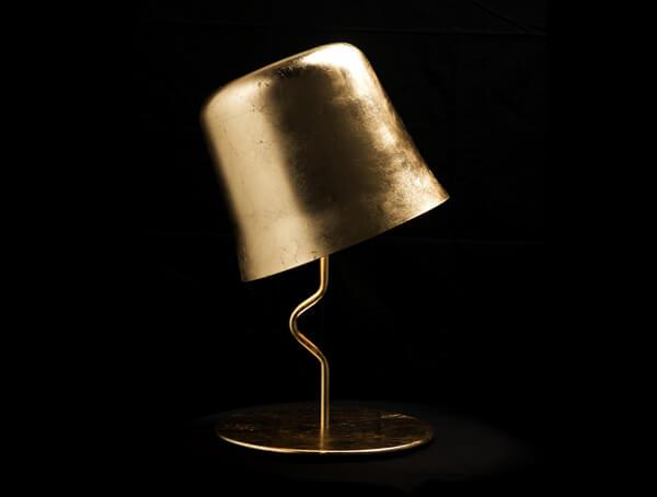 מנורות שולחן דגם Agata של מותג תאורה בינלאומי לגופי תאורה Contardi