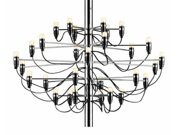 מנורות תלויות דגם 2097 של המותג לגופי תאורה בינלאומיים flos