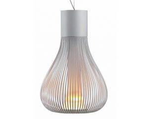 שנדליר דגם CHASEN S של המותג לגופי תאורה בינלאומיים flos אפור