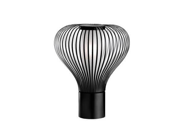 מנורות לחדרי שינה דגם CHASEN T1-T2 של המותג הבינלאומי לגופי תאורה flos שחור