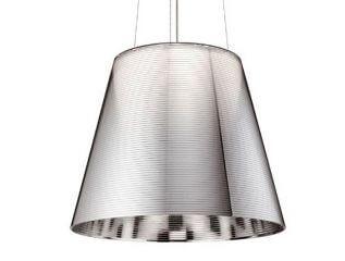 גופי תאורה תלויים דגם KTRIBE S של המותג לגופי תאורה בינלאומיים flos אפור