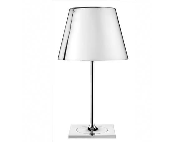 מנורות שולחן דגם KTRIBE T1 GLASS של המותג הבינלאומי לגופי תאורה flos כרום