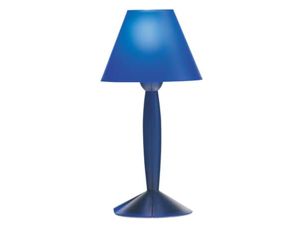 מנורות שולחן דגם MISS SISSI של המותג הבינלאומי לגופי תאורה flos כחול