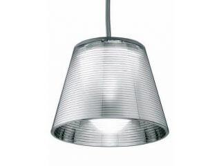 שנדליר דגם ROMEO BABE K S של המותג לגופי תאורה בינלאומיים flos אפור