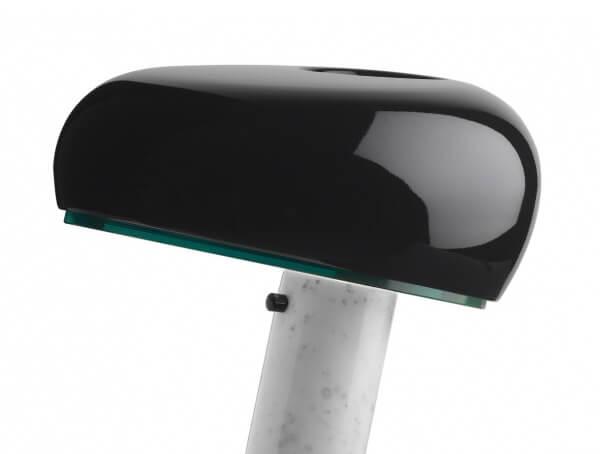 מנורות שולחן דגם SNOOPY של המותג הבינלאומי לגופי תאורה flos שחור