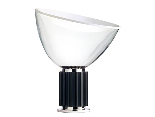 מנורות שולחן דגם TACCIA של המותג הבינלאומי לגופי תאורה flos, לבן