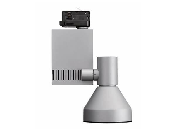 ספוטים לפסי צבירה, דגם compass spot vertical של מותג התאורה הבינלאומי flos