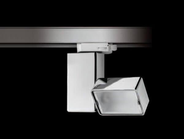 ספוטים לפסי צבירה, דגם fort knox floodlight של מותג התאורה הבינלאומי flos