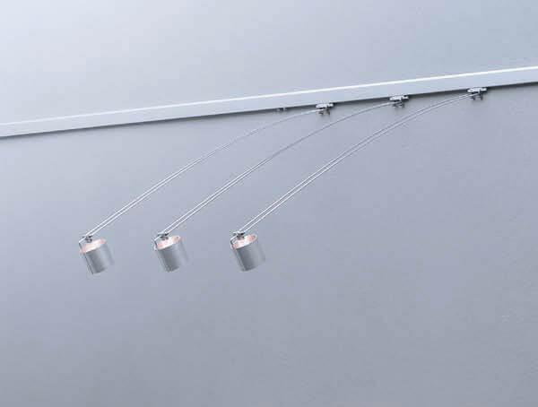 ספוטים לפסי צבירה דגם lightlight-minitube של המותג לגופי תאורה flos