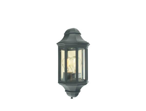 תאורת חוץ צמודים דגם 175 של מותג תאורה Norlys שחור