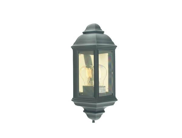 תאורת חוץ דגם 169 של מותג תאורה Norlys שחור