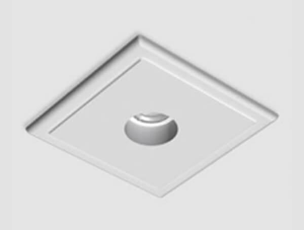 מנורות שקועי תקרה, דגם USB ROUND של המותג התאורה הבינלאומי flos