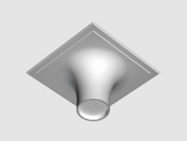 מנורות שקועי תקרה, דגם USOBOOB600 של המותג התאורה הבינלאומי flos