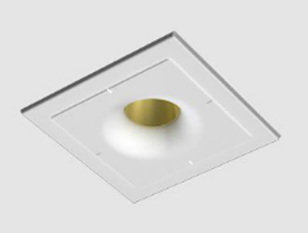 מנורות שקועי תקרה, דגם USOKAP של מותג התאורה הבינלאומי flos