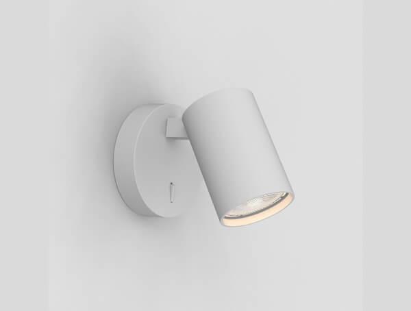 גופי תאורה צמודים דגם Ascoli Single Switched של מותג תאורה בינלאומי astro