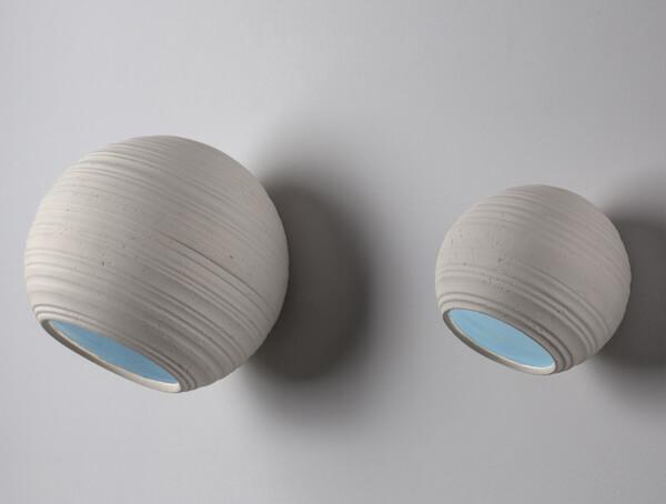 תאורת חוץ צמודה דגמים 1007P,1004P,1001P תכלת