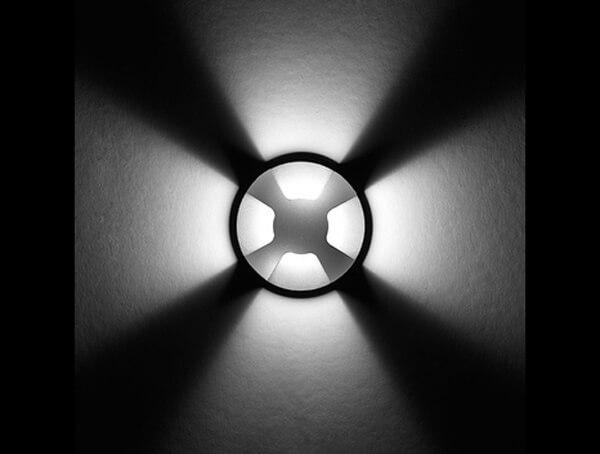 תאורת חוץ שקועה דגם RHO של מותג ares