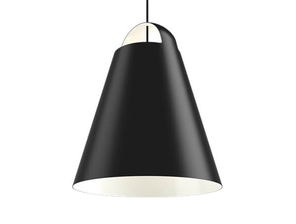 מנורת תליה שחורה ABOVE, LOUIS POULSEN