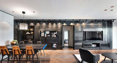 תאורה לבית בפרויקט קושמירסקי אדריכלים
