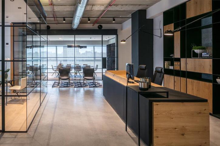 מנורות למשרדים בפרוייקט מינצר כרמון