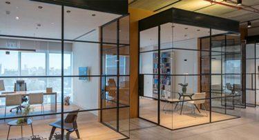 מנורות תקרה בפרויקט משרד עוד מינצר כרמון