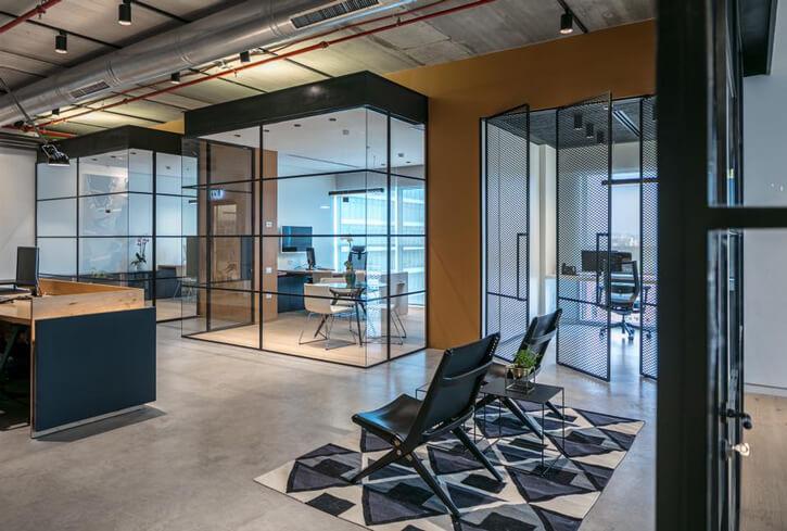 מנורות למשרדים בפרויקט מינצר כרמון