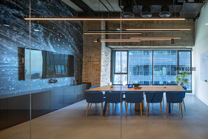 מנורות לעסקים בפרוייקט סייבר רייזן
