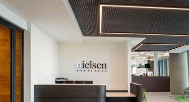 מנורות תקרה בפרויקט Nielsen