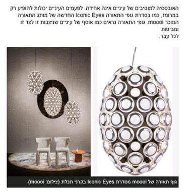 פרסום moooi באתר xnet.ynet