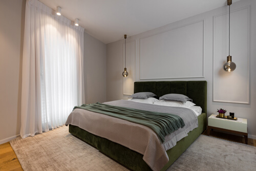 מנורות לחדר שינה