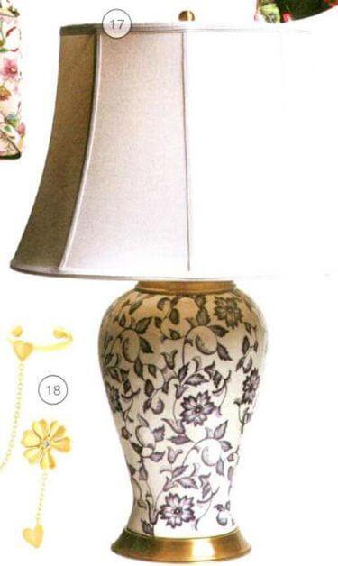 מנורת שולחן קולקציית הבית